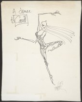 Image of A Dance to Caniff - Feiffer, Jules, 1929-